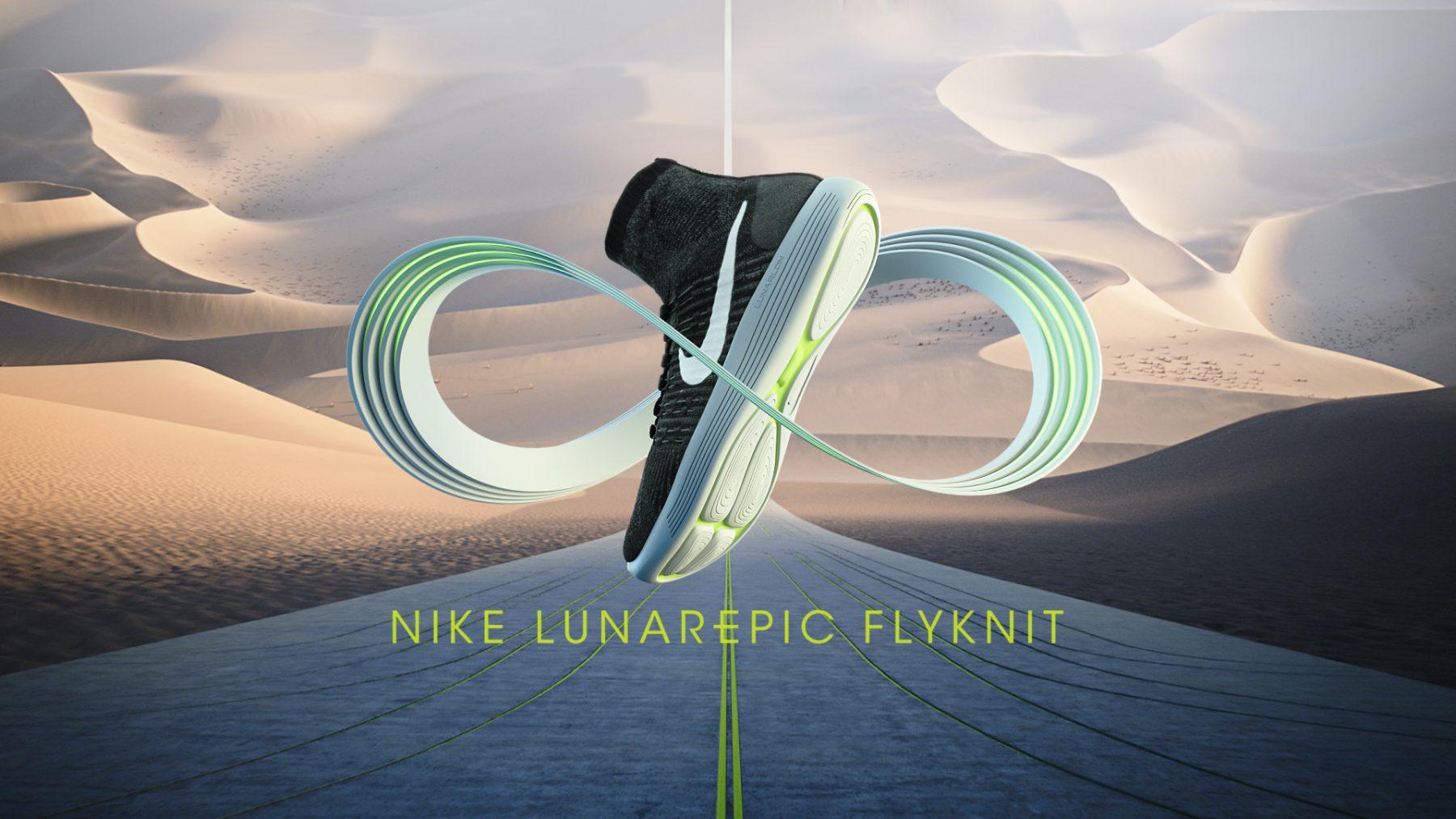 Nike - LunarEpic Flyknit 2